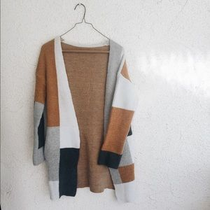 a9c5f12f1a Sweaters - BIG SALE Vintage Colorblock Cozy Oversized Sweater